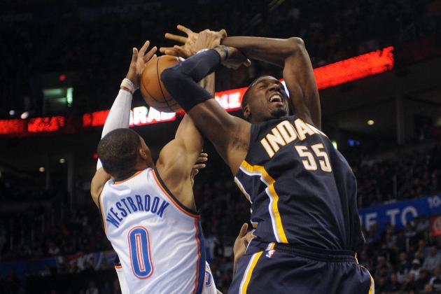 Pacers No Match for Russell Westbrook and Kevin Martin