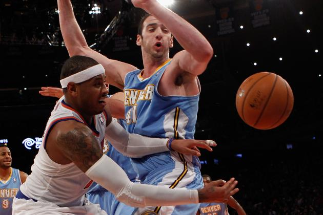 Carmelo Anthony Dominates Fourth Quarter as Knicks Rally Past Nuggets