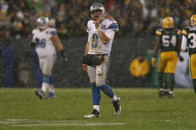 Detroit Lions Lose to Green Bay Packers for 22nd Consecutive Time at Lambeau