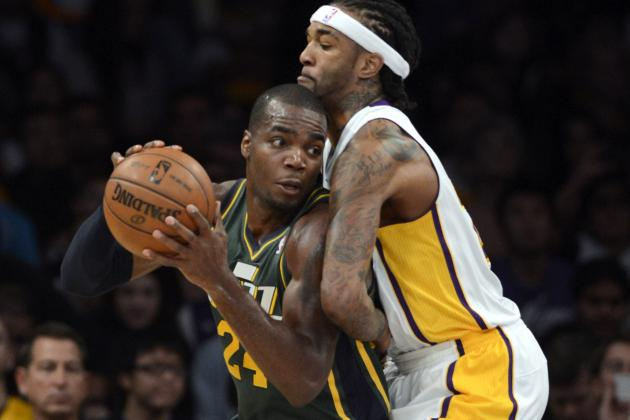 Lakers Give Utah Little Resistance in Loss