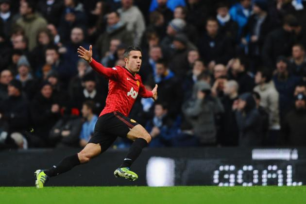 Manchester United: Robin van Persie Has Swung Title Balance Back to United