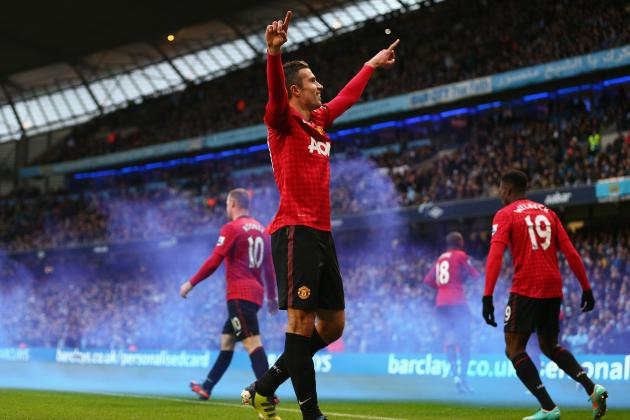 Manchester City 2-3 Manchester United: Reliant Robin Wins Derby at the Death