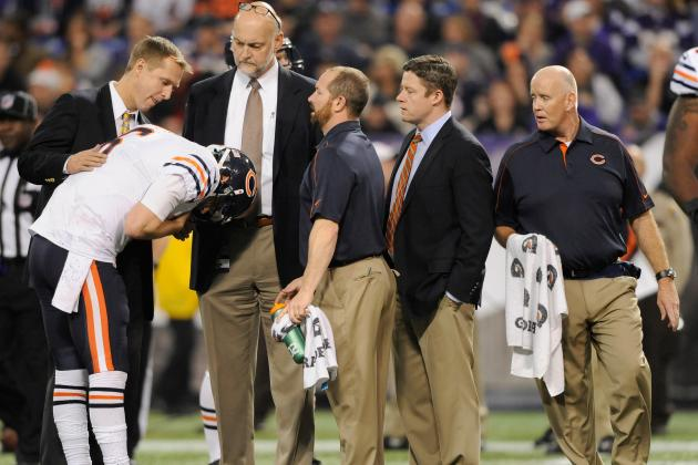 Cutler Suffers Neck Injury
