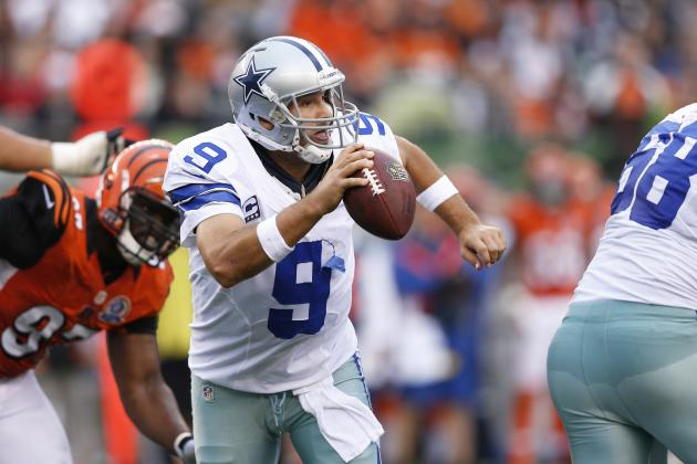 Tony Romo: Dallas Cowboys QB's Fourth-Quarter Play Seals Victory in Cincinnati