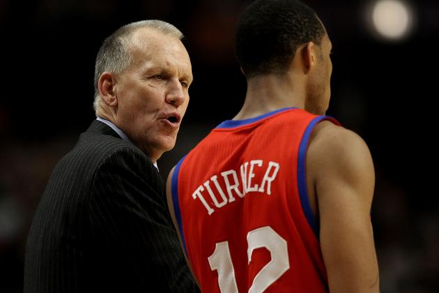 Sixers' Doug Collins Confident in Evan Turner