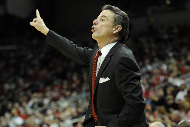 Rick Pitino Answers a Reporter's Phone During His Presser and Hilarity Ensues