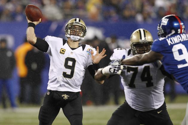 2012 Fantasy Football Quarterback Rankings: NFL Week 15