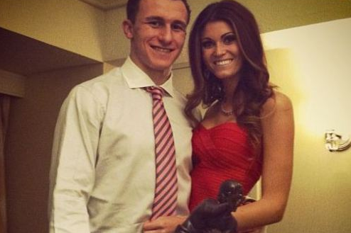 Johnny Manziel's Girlfriend Is Sarah Savage