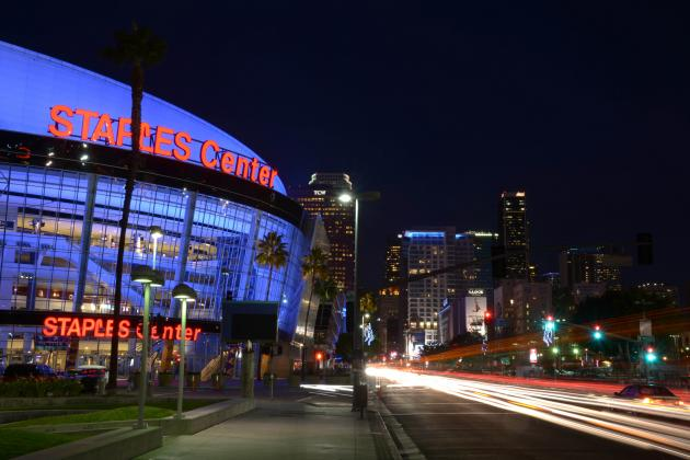 Staples Center Noted as One of the NBA's Best Arenas