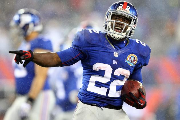 David Wilson: Realistic Fantasy Expectations Through Playoffs for Giants RB
