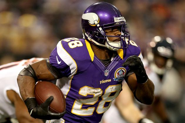 2012 Fantasy Football Running Back Rankings: NFL Week 15