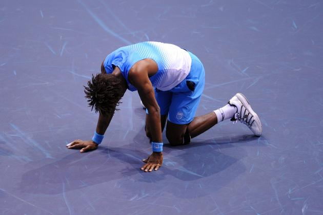 Gael Monfils Still Having Knee Problems According to Leconte