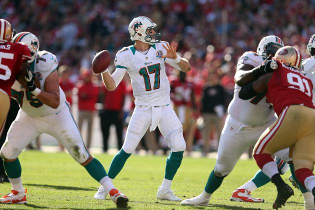 Miami Dolphins: Ryan Tannehill Has One of the Lowest QB Ratings in the NFL