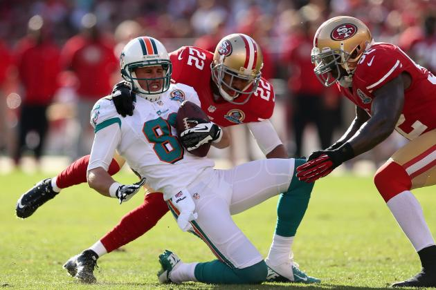 Miami Dolphins: Brian Hartline Poised for First 1,000-Yard Season