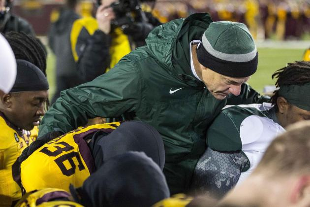 Dantonio Loyal to Staff First, Endorses Pat Narduzzi for Head Coach Positions