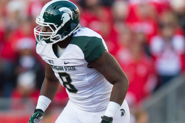 Dantonio Hints That Lawrence Thomas Could Play Offense and Defense in Bowl