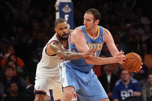 Denver Nuggets' Kosta Koufos Has Been the Surprise of the Season