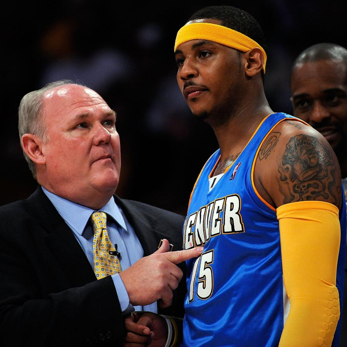 Knicks News: George Karl Discusses Carmelo Anthony's ...
