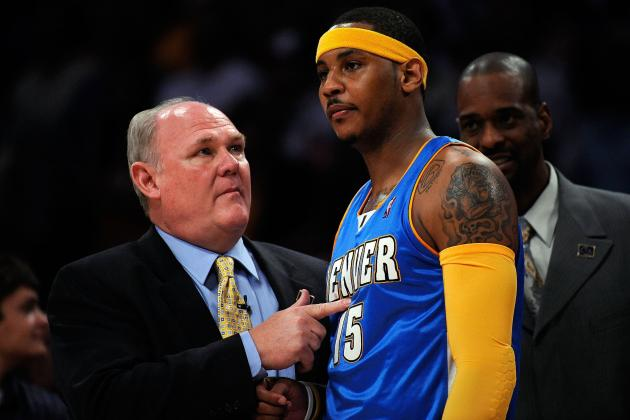 Knicks News: George Karl Discusses Carmelo Anthony's Progression