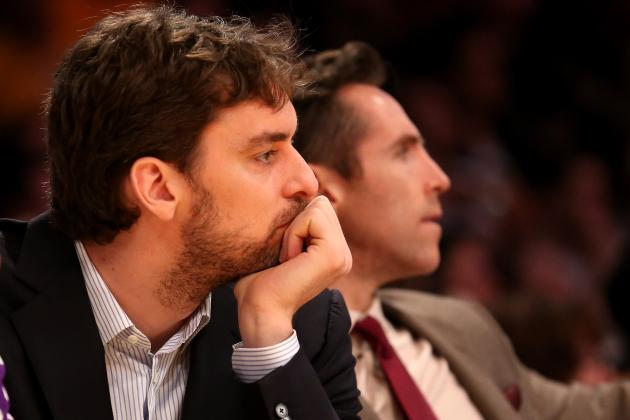 NBA Trade Rumors: Lakers Would Be Crazy to Entertain Pau Gasol Trade Talks