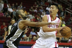 Tony Parker Sees Similarites with Jeremy Lin at Same Stage of Career