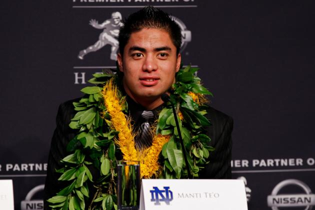 A Statistical Case for Why Manti Te'o Should Have Won the Heisman Trophy