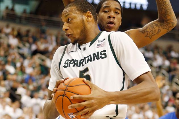 Adreian Payne Gets Increased Playing Time, and Izzo Wants to See More