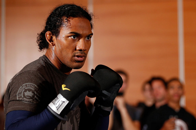 UFC Champ Ben Henderson Learned His Leg Punch from Bruce Leeroy