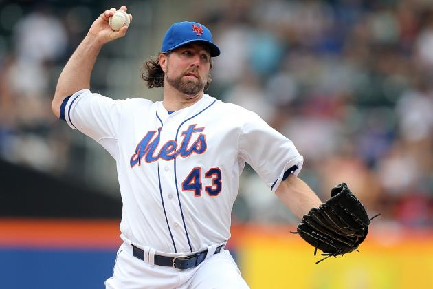 R.A. Dickey Rangers Rumors: Is NL Cy Young Winner Better Move Than Zack Greinke?