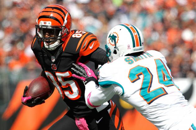 Armon Binns Won't Return to Bengals After Being Claimed by Dolphins