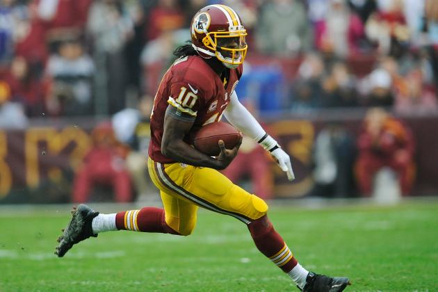 Robert Griffin III Suffers Mild LCL Injury, Could Play vs. Cleveland