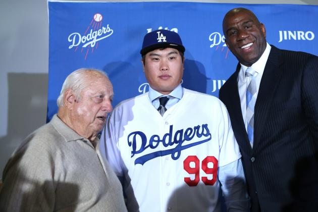 Dodgers Officially Introduce Korean Lefty Ryu