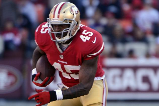 Brandon Jacobs Finds Out What Happens When You Challenge Jim Harbaugh