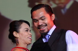 Manny Pacquiao's Mom Blames Loss on Switching Religion