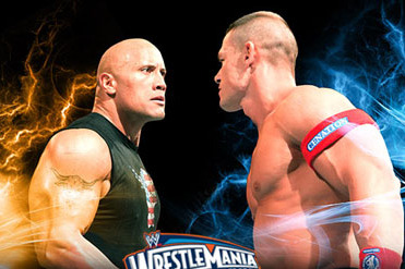Could Rock vs. John Cena II Involve 2 World Titles?