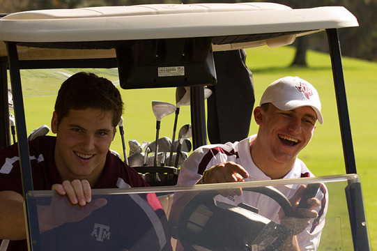 Johnny Manziel Is Also Good at Golf