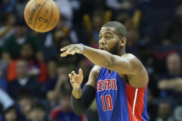 Greg Monroe Has Bounce-Back Performance, Pistons Don't, in Loss to Philadelphia