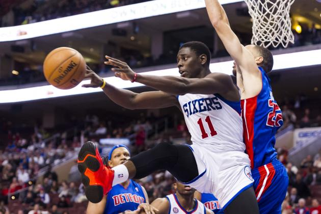 Sixers Beat Pistons as Holiday Punctuates Win