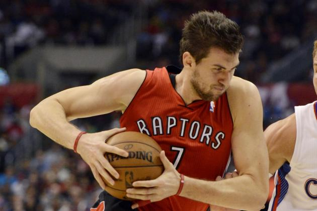 Bargnani Leaves in 1st Quarter with Arm Injury