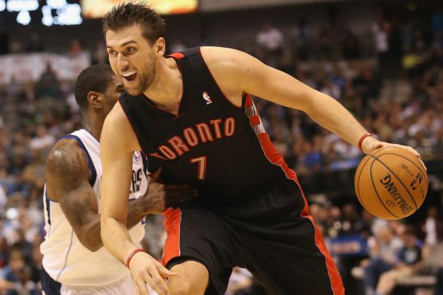 Andrea Bargnani Injury: Updates on Raptors Forward's Elbow