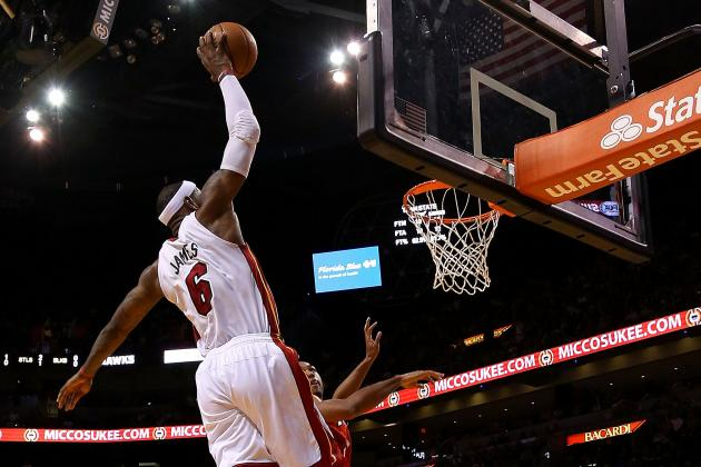 LeBron James Leads as Miami Heat Maintains Division Lead over Atlanta Hawks