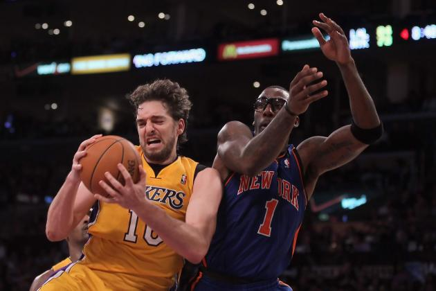 Amar'e Stoudemire and Pau Gasol's Troubles Are One and the Same