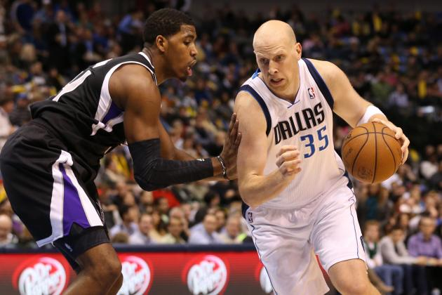 Chris Kaman Producing Despite 'Glowing Purple' Ankle