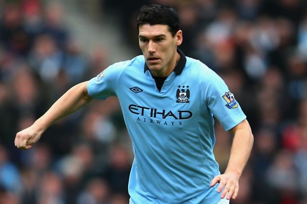 FA Charge Manchester City's Gareth Barry with Misconduct