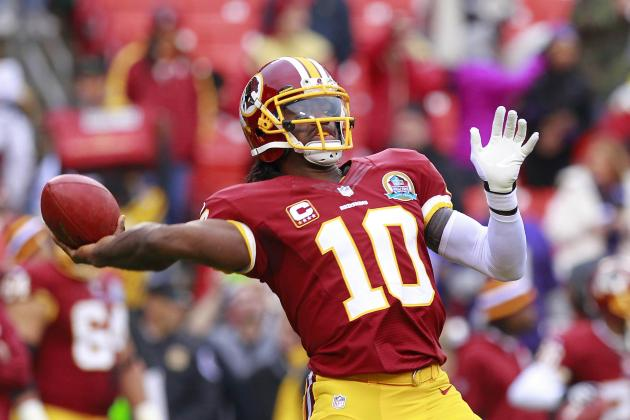 RGIII Injury: Fantasy Owners Can't Trust Redskins QB in Week 15