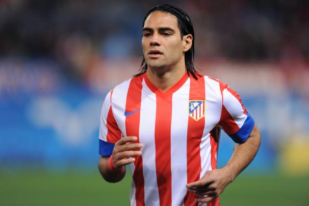 Real Madrid President Jokes About Signing Atletico's Falcao