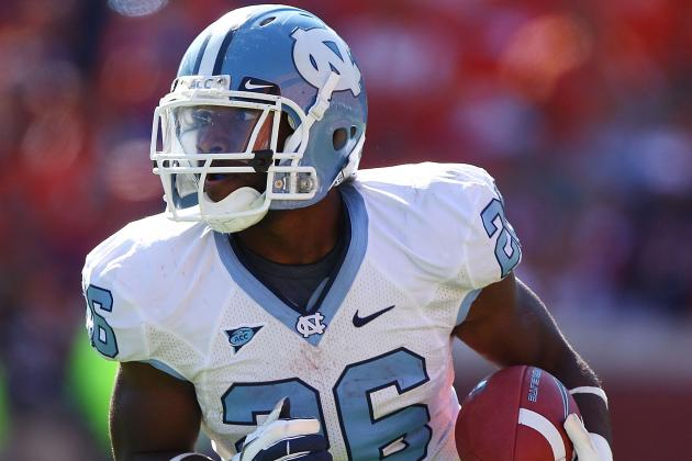 Tar Heels Will Be Deep at RB Regardless of What Giovani Bernard Does
