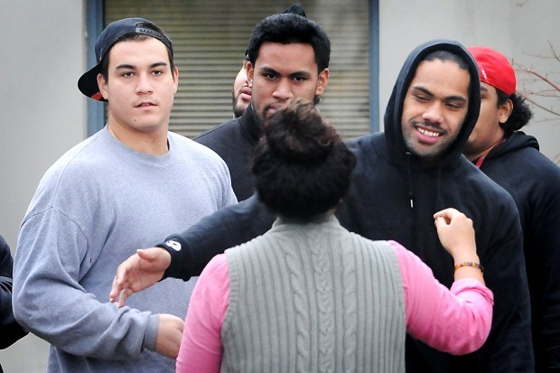 Three Oregon State Football Players Arraigned in Assault Case
