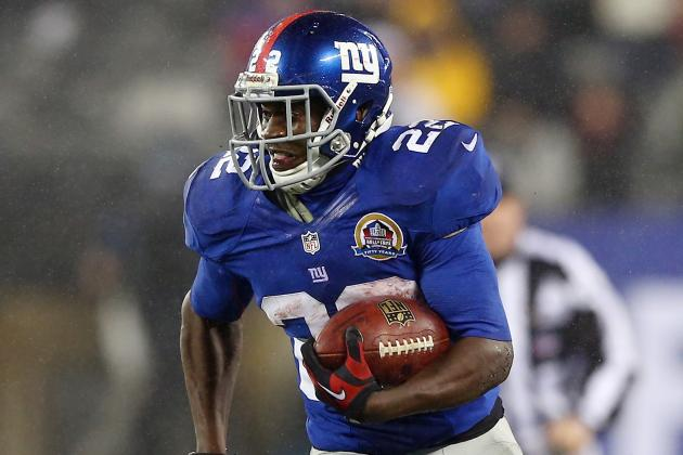 David Wilson Could See More Action as Ahmad Bradshaw Deals with Injury