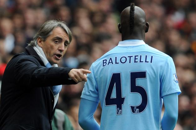 Debate: Who Will Be the First to Go for Man City, Balotelli or Mancini?